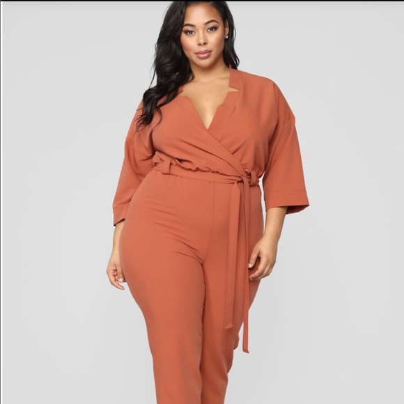 hot-selling latest buy popular top-rated genuine Jumpsuit in color rust